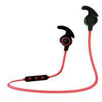 H6 Business Sport Kopfhörer In-ohr Wireless Stereo BT4.1 Lauf Kopfhörer Headset Freisprecheinrichtung Pair / Off / On Receive / Hang Rot