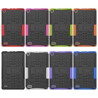 Wholesale Leather Case For Kindle Hd - Hybrid Shockproof Rugged Rubber Case Skin Smart Cover for Fire 7 2017