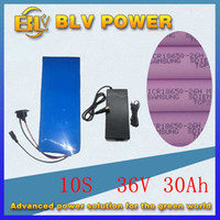 chargeur pour ebike achat en gros de-1000W Ebike 36v 30Ah batterie pour vélo électrique scooter électrique NO shell pour l'intérieur Corée 26Hm batterie au lithium en PVC BMS envoyer 2a chargeur