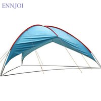 Venda por atacado 480 * 480 * 480 * 210cm Ultralight Sunshelter Anti-UV Waterproof Sun Shelter Super Large Beach Tent 210T Polyester Cloth Camping Tent