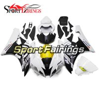 Wholesale R6 White Fairing Kit - Injection ABS Fairings For Yamaha YZF600 YZF R6 06 07 2006 2007 Motorcycle Fairing Kit Motorbike Cowling Motorbike White Yellow