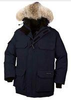 Wholesale Original Fur Coat - Original canadians brand men feather Down Jacket Big Removable Raccoon fur warm Coat protection against winter Thick Arctic Parka down coat