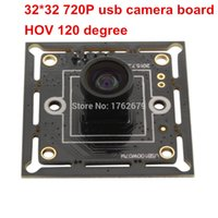 Wholesale 32 mm megapixel X720 CMOS OV9712 Windows Linux Android free driver mini USB Camera board with M7 degree lens