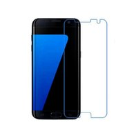 Wholesale galaxy s5 lcd protectors resale online - Explosion proof LCD Clear Tempered Glass For Samsung Galaxy S7 Transparent Screen Protector Film Ultra thin For Samsung Galaxy S4 S5 S6 S7