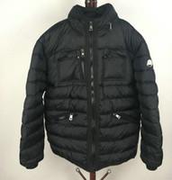 duvet daunenjacke großhandel-Winterjacke Männer Stehkragen Puffy Ente Bettdecke Outdoor Ski Daunenmantel Mode Männlichen Daunenbekleidung Schwarz Plus Größe 3XL