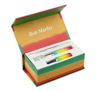 Wholesale Electronic Vapor Pipes - snoop dogg Bob Marley starter e cig herbal dry herb vaporizer vape pen travel kit kits g electronic cigarette smoking pipe vapor vaporizador