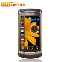 Wholesale Internal Camera - Original Samsung Phone I8910 3.7'' 8GB Internal GPS WIFI Bluetooth 8MP Camera Phone I8910 Unlocked Refurbished ONE Year warranty