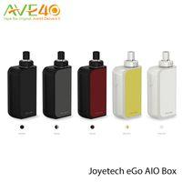 Wholesale Locking Battery Box - 100%Origina Joyetech eGo AIO Box Starter Kit 2100mAh Built-in Battery 2ml Tank Capacity with Anti-leaking Structure Child Lock