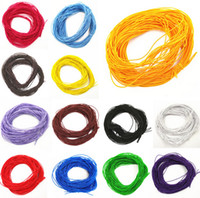 100m / lot Elastic Rope Stretch Rubber Line Beading Cord For DIY Bracelet Necklace Jewelry Making 1mmx24m