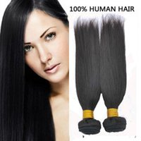 Brazilian Malaysian Virgin Hair Unprocessed 8A Cheap Top qualidade Soft Chinese remy hair weave straight Indian extensões de cabelo humano DHgate