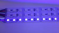 Wholesale Led Hard Strip Rgb - 20pcs under cabinet led lighting 1M 5050 RGB led strip Rigid Hard Strip DC12V Bar Light 5050SMD 72 LED Free Shipping