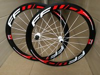 Wholesale Carbon Road Wheels Straight Pull - latest carbon fiber OEM 23mm width carbon 50mm wheels front or rear bike wheelset straight pull