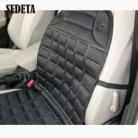 Wholesale Auto Seat Heaters - 12-24V Thickening Car Auto Vehicle Seats Heater Heated Winter Warmer Cushion Cheap heater system High Quality cushion orange