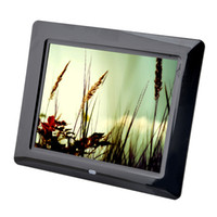 Wholesale Remote Disk - 2 pcs brand new 8 inch LCD Digital Photo Frame SD Remote control With MP3 MP4 Player free shipping