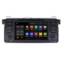 Wholesale Car 3g Tv Gps - Joyous Android 5.1.1 System 1024*600 Single DIN Car DVD For BMW E46 M3 1999-2005 Radio Stereo GPS Navi WIFI 3G