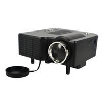 Wholesale Data Show - UC28 Mini LED Digital Video Game Projectors Multimedia player Inputs AV VGA USB SD HDMI proyector Built-in Speaker data show Hot