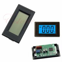 Wholesale Ac Digital Volt Meter Blue - Wholesale-A96 Free Shipping Digital Blue LCD Circuit Volt Panel Meter Voltmeter Monitor 2-wire AC 80-500V