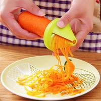 Gadget Funnel Model Vegetable Shred Device Spiral Slicer Carrot Radish Cutter Kitchen Tool 1 Piece