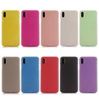 Pour iphone X Case Flexible Ultra mince Étui givré pour iphone X 5.8 pouces en plastique dur PC PP Matte Cell Phone Rubber Back Cover Skin