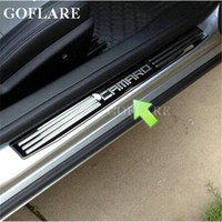 Wholesale Led Illuminated Door Sills - Car Styling for Chevy Chevrolet Camaro accessories 2009-2016 led auto door sill illuminated sills scuff plate thresholds