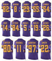 Men cartoon vikings - Men s HARRISON SMITH Minnesota Viking TEDDY BRIDGEWATER STEFON DIGGS LAQUON TREADWELL KYLE RUDOLPH Rush legend jerseys