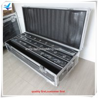 Wholesale Moving Bar - (4lot CASE)sweeper beam led 8x10w RGBW 4 in 1 led sweeper bar moving head flight case