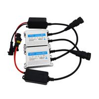 caché argent achat en gros de-Une paire noir argent HID ballast au xénon AC 35W 12V pour phare automatique HID lampe ampoule au xénon