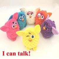 Wholesale Interactive Talk - 6 Colors 18cm Interactive Owl Electronic Toys Phoebe Electric Pets Owl Elves Plush Toys Recording Talking Toys Party Favors CCA7638 50pcs
