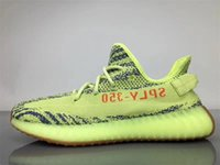 Wholesale Basketball Loop - Originals Y CP9654 Zebra Boost 350 V2 Kanye West Season 3 Semi Frozen SPLY 350 Boost V2 Shoes Black Red CP9652 Beluga 2.0 Running Shoes