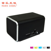 Wholesale Angels Called - Wholesale- Original Music Angel Bluetooth Speaker Micro-SD Aux-in Handsfree Call Stereo Portable Speaker Bluetooth 4.0 Aluminum Frame