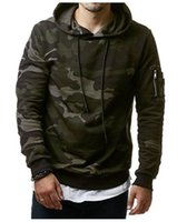 Wholesale male models clothes for sale - New Mens Hoodies and Sweatshirts Thin Model Zipper Hooded Sweatshirts Male Clothing Fashion Military Hoody For Men Printed Hoodies XL W05