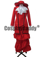 Wholesale Madam Red Cosplay - Black Butler Madam Red Cosplay Costume