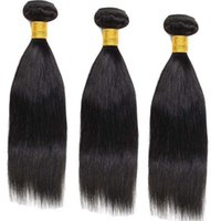 Wholesale Brazilian Virgin Fast Shipping - 10A grade hai Mongolian straight hair weaves 3pcs lot human hair extensions Queen hair Free shipping natural color Bella Hair Fast Delivery