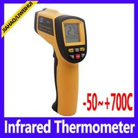 Wholesale Infrared Temp - GM700 Industrial non-contact Infrared Thermometer laser temp gun