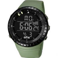 Wholesale Watches Ots - 2016 New OTS Brand Fashion Watch Men Style Waterproof Sports Military Watch S Shock Men's Luxury Analog LED Quartz Digital Watch