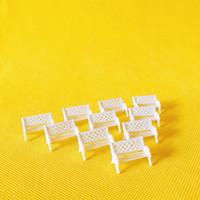fee garten miniaturen häuser großhandel-Verkauf ~ 10Pcs / white Stuhl / Puppenhaus / / Miniaturen / schöne süße / Fee Gartenzwerg / Moos Terrarium Dekor / Handwerk / Bonsai / DIY suppllies