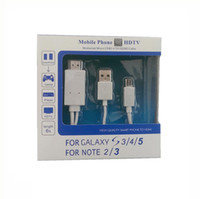 Wholesale Sam S3 - For SAM SUNG samsung galaxy s3 i9300 MHL to HDMI hd video conversion line switch line