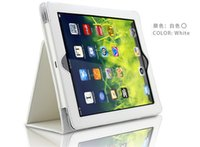 Wholesale Ipad4 Smart Cover New - Free DHL Sleep Wake UP Smart Magnetic Cover Case for Apple ipad mini iPad2 iPad 2 new iPad3 iPad 3 iPad4 iPad 4 iPad Air 2 9.7'' PC Stander