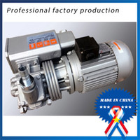 Wholesale Under Pressure - 380V50HZ Single-stage rotary vane vacuum pump Direct filtration and dried under vacuum pumping speed air-cooled pumps