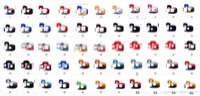Wholesale Wholesale Flat Bill Hats - Plain Fitted Cap New Baseball Hat Solid Flat Bill Visor Blank Color Basic Sport Snapback Hats 2016 Cheap Discount Caps