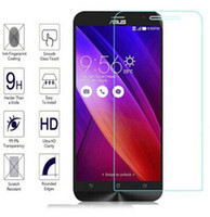 Wholesale Tempered Glass For Zenfone - Tempered Glass Screen Protecter for Asus zenfone ZE551 zenfone 2 5.0 5.5 inch Glass Protector For Asus Mobile Phone Anti-scratch