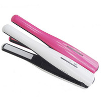 White new straighteners - NEW Rechargeable Cordless Hair Straighteners Portable USB Charger Wireless Hair Straighteners Iron in Hair Curl Tools Fast shipping