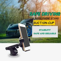 Wholesale Note Windshield - Anti Skid Long Neck Windshield Dashboard Magnetic Car Mount Phone Holder Eaiser for iPhone 8 7 Note 8