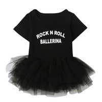 Wholesale Ballet Costumes For Kids - 2017 Summer style dress for girls lace tutu princess party costume Ballet Ruffle Silk dresses kids clothes vestido meninas DS40