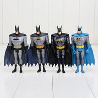 """Wholesale Dc Unlimited - Wholesale - Hot sale Free Shipping DC Universe JLU Justice League Unlimited Batman 5"""" Loose Action Figures Toys 4pcs set"""