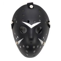 Wholesale Wacky Halloween - Party Masks Retro Style DIY Solid Color Full Face Thicken Plastic Halloween Archaistic Killer Horror Wacky Mask 4 9gn F R