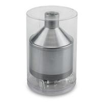 ingrosso smerigliatrice a mano per spezie-Formax420 Powder Spice Grinder Hand Funnel con un vaso di vetro