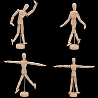 Wholesale Mannequin Unisex - 4.5'' Drawing Model Wooden Human Male Manikin Jointed Mannequin Puppet