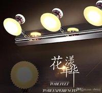 tocadores de baño accesorios de iluminación al por mayor-luces de espejo led vanity lámparas de pared delanteras living bathroom led light 10w lámparas de iluminación moderna baño breve lámpara de pared
