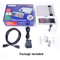 Wholesale Hdmi Android For Tv - HD HDMI Out Retro Classic Game TV Video Handheld Console Entertainment System Built-in 500 Classic Games For NES Mini Game PAL&NTSC